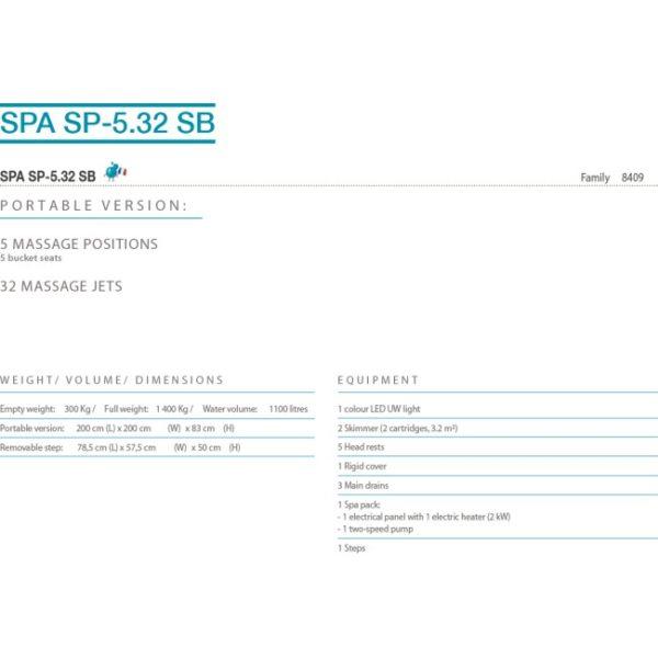 Jacuzzi-SPA-SP-5-32SB