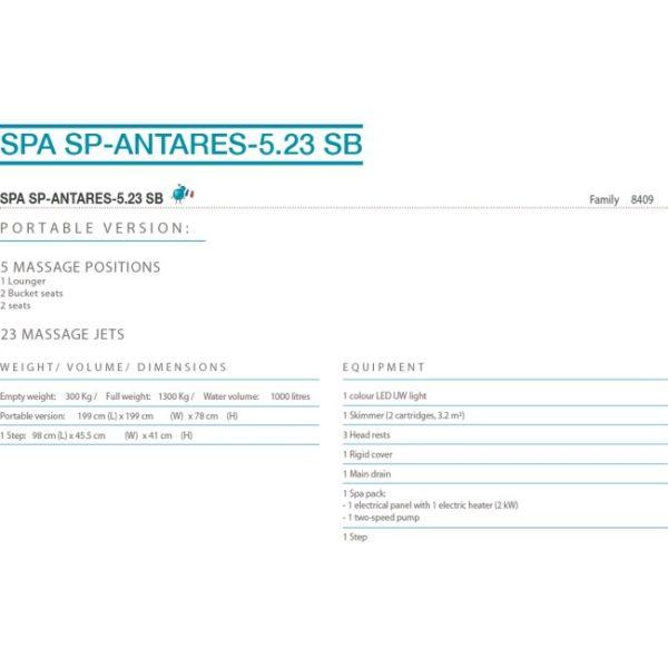 SPA - SP - Antares - 5.23 SB