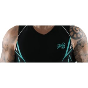 T-Shirt aquafitness pour Homme col en vé de Waterflex