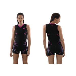 T-Shirt aquafitness pour Femme col en vé de Waterflex