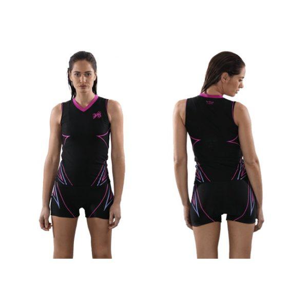 T-Shirt aquafitness pour Femme col en vé de Waterflex