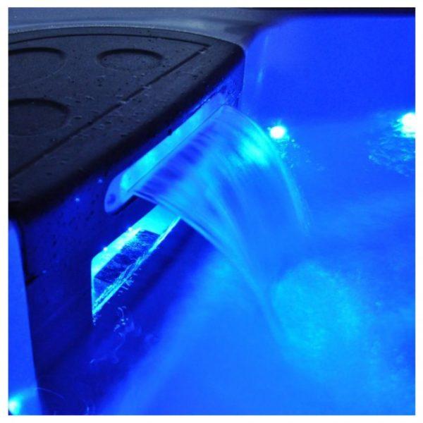 Cascade - Lame d'eau 600 x 150 mm avec leds 8W par Procopi