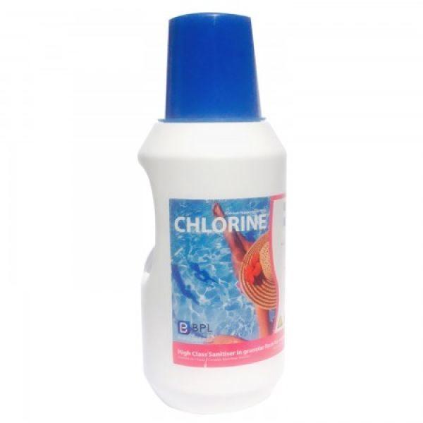 Chlore 70% - 2.5kg Anti algues et bactéries dans la piscine