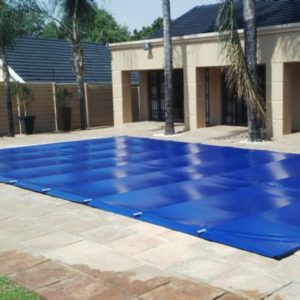 Aquanet solid safety cover for pool and spa