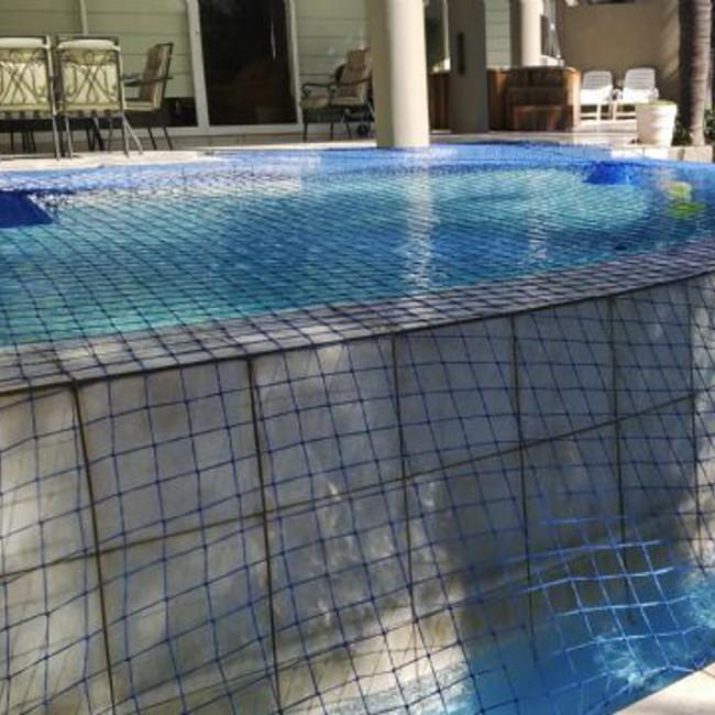 filet de protection s curit pour piscine par aquenet. Black Bedroom Furniture Sets. Home Design Ideas