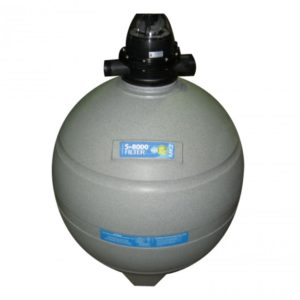 Sand filter for swimming pool - S 8000 - Poolrite