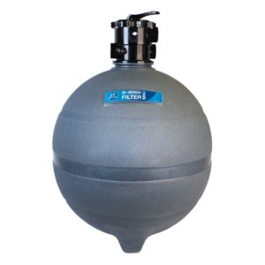 Sand filter for swimming pool - S 9000 - Poolrite