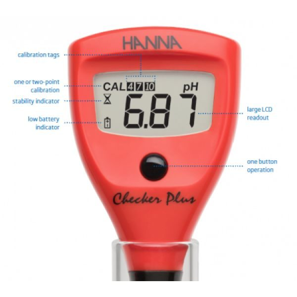 Testeur PH mètre / température