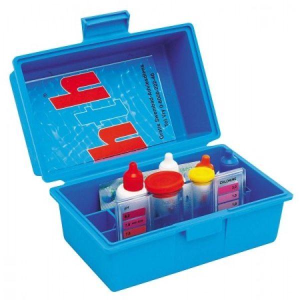 Kit de test de l'eau de piscine 4 en 1