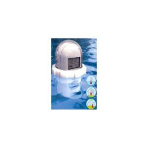 Thermomètre de piscine sans fil avec émetteur étanche
