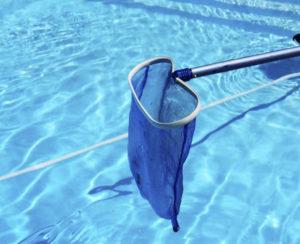 Temps d'entretien d'une piscine