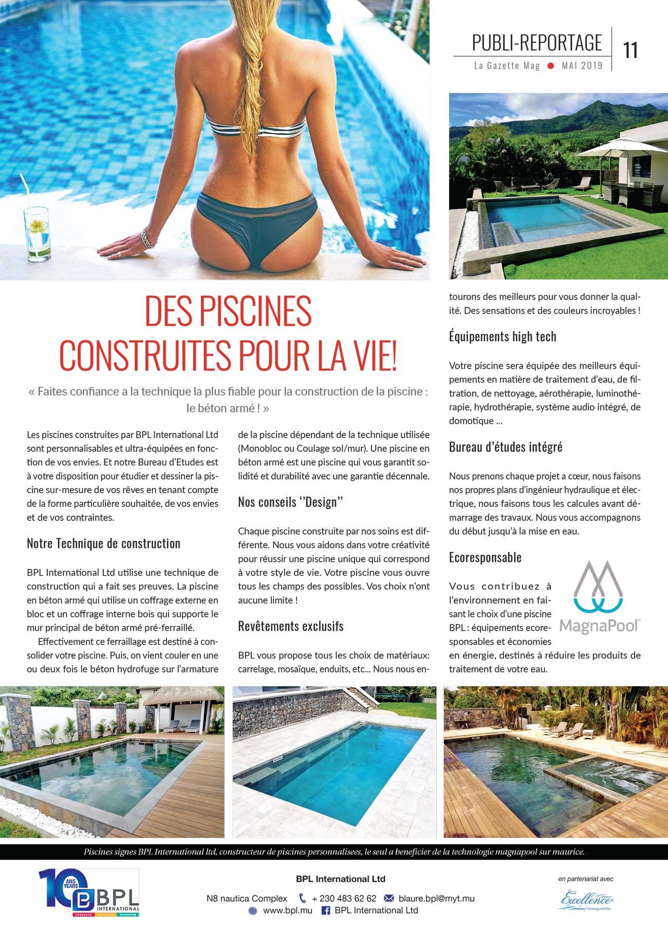 Publi La Gazette Mag