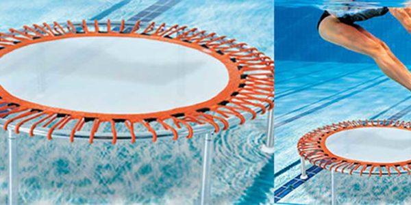 Connaissez-vous le trampoline aquatique?