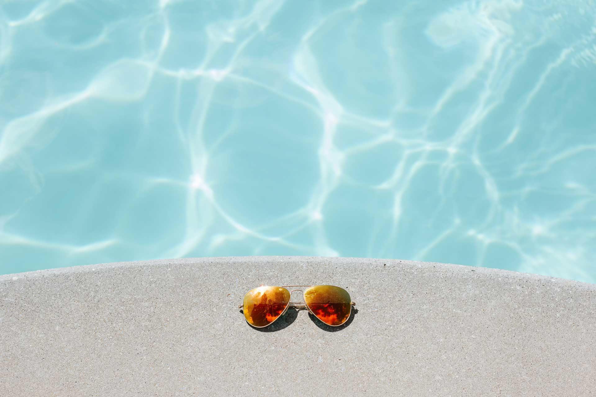influence des produits dans l'eau de piscine