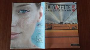 Parution La Gazette Mag de Février 2019