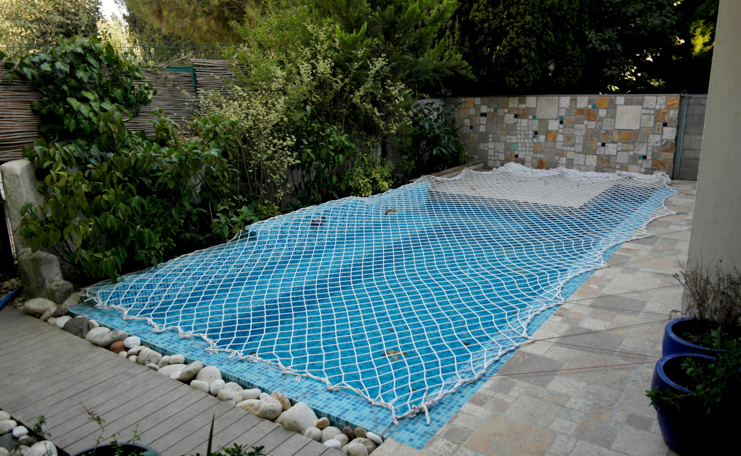 filet de protection piscine